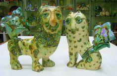 Елена Вагина Islamic, Dinosaur Stuffed Animal, Ceramics, Toys, Animals, Ceramica, Activity Toys, Pottery, Animales