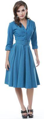 Heartbreaker Haute Lake Blue Monte Carlo Dress