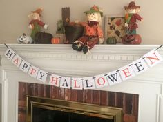 Happy Halloween banner, halloween decor, Halloween banner, halloween decoration, fall decor, fall decorations, fall banner, halloween party