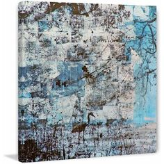 Marmont Hill Mill River Fog by Tracy Silva Barbosa Painting Print on Canvas, Size: 24 inch x 24 inch, Multicolor