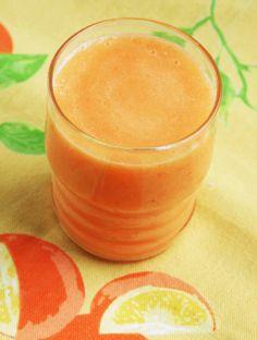 Carrot-Orange-Pineapple Smoothie