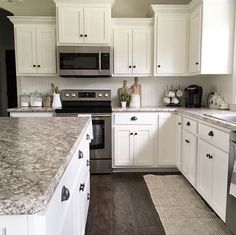 Supreme Kitchen Remodeling Choosing Your New Kitchen Countertops Ideas. Mind Blowing Kitchen Remodeling Choosing Your New Kitchen Countertops Ideas. Black Kitchen Countertops, Farmhouse Kitchen Cabinets, Modern Farmhouse Kitchens, Kitchen Cabinet Design, Kitchen Redo, Home Kitchens, Kitchen Dining, Kitchen Ideas, Kitchen Black