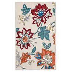 Red Floral Floor Mat 34  Kitchen Mat Target And Gray Delectable Kitchen Mats Target Decorating Inspiration