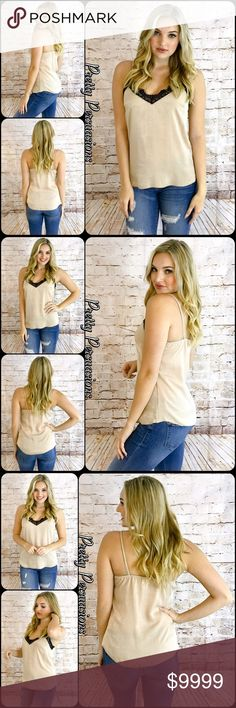 Coming Soon Coming Soon Pretty Persuasions Tops Camisoles