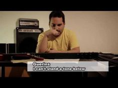 I CAN'T STAND A TONE BELOW ♫ Guido Guerini ♪ Official Videoclip - YouTube
