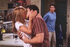 Try not to cry. Cry a lot Friends Scenes, Friends Cast, Friends Moments, I Love My Friends, Friends Tv Show, Guy Friends, Rachel Green, Joey And Rachel, Ross Geller