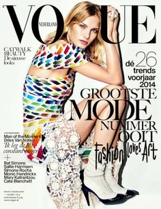 Vogue Netherlands, March 2014.