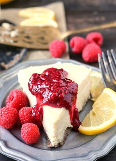 Paleo Lemon Cheesecake - Jay's Baking Me Crazy