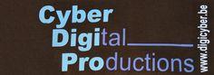 Een voorbeeldje op een pull Cyber, Company Logo, Digital, Logos, Logo, Legos