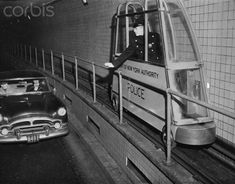 Holland Tunnel, 1955