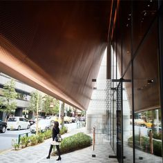 The new @MiuMiu #Aoyama store by Herzog & de Meuron, a box...  #architecture #construction #design #modern Pinned by www.modlar.com