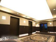 Resultado de imagem para acoustical ceiling stretched fabric
