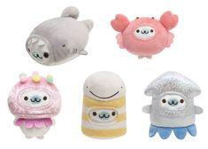 Kawaii Plush, Cute Characters, Plush Dolls, Sea Creatures, Plushies, Piggy Bank, Super Cute, Toys, Minden