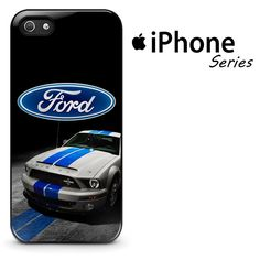 Ford Mustang White Blue Phone Case | Apple iPhone 4/4s 5/5s 5c 6 6 Plus Samsung Galaxy S3 S4 S5 S6 S6 Edge Samsung Galaxy Note 3 4 5 Hard Case Car Ford, Mustangs, Galaxy Note, Galaxies, Samsung, Phone Cases, Cars, Iphone, Things To Sell