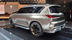 "Monograph concept SUV doesn't just say luxury, says, it oozes ""upscale luxury""… Suv Trucks, Suv Cars, Car In The World, Car Ins, Luxury, Vehicles, Centre, Concept"