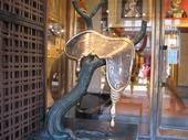 "Bronze sculpture of Salvador Dali's ""melting clock"". Venice, Italy 2008. (Small JPEG my apologies)"