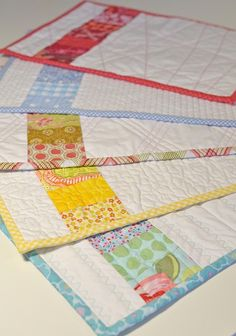 ** Cute and easy placemats