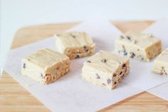 Chocolate Chip Cookie Dough Fudge Recipe by Sally's Baking Addiction