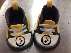 Fondant/Gumpaste Baby Shoes/Booties by SweetsSupplyShop on Etsy, $25.00