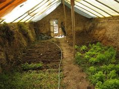 Walpini- in ground greenhouse. An excellent idea!