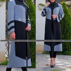 آموزش دوخت مانتو بی بی زهرا :سلام, ببخشین - زیباکده Persian, Duster Coat, Model, Jackets, Fashion, Down Jackets, Moda, Fashion Styles