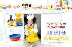 how to have a succesful Gluten Free Birthday Party jojoandeloise.com