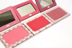 "The Balm's ""Instain"" Holiday Blush Trio #thebalm #beauty #makeup"