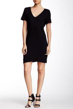 Lanston Black Cutout Back Dress
