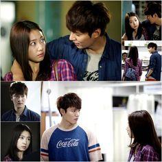 The Inheritors ♥ LEE MIN HO as Kim Tan PARK SHIN HYE as Cha Eun Sang