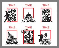 15 Beautiful and Creative QR Codes - Time Magazine covers - via Mashable Online Marketing Companies, Marketing Program, Internet Marketing, Time Magazine, Qr Codes, Magazin Covers, Creative, Presentation, Blog