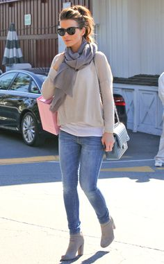 Babe in Basics from Celebrity Street Style | E! Online