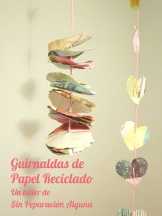 Guirnaldas Paper Garlands, Upcycling, Tutorials, Paper Envelopes