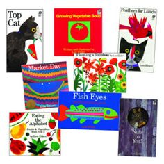 All children love Lois Ehlert books. She is the talented author and illustrator of these acclaimed books and her work has received numerous awards and honors. Set of 8 paperbacks. Lois Ehlert, Early Literacy, Learning Centers, Cat Day, New Books, Vocabulary, Author, Children, School