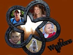 Horse Shoe Star Wall Decor or Frame by JWslash on Etsy