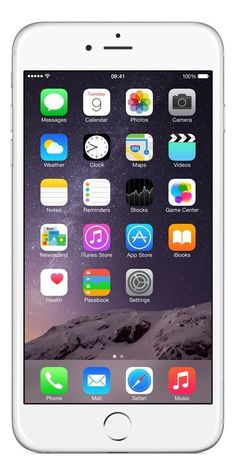 Apple iPhone 6 Plus Silber 16GB SIM-Free Smartphone EUR 349,90