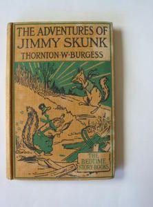 The Adventures of Jimmy Skunk Burgess Thornton w Illus by Cady Harrison   eBay
