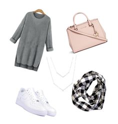 """hiver"" by ed15follow ❤ liked on Polyvore featuring beauty, NIKE and Michael Kors"
