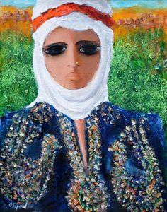 Fikret Otyam (1926 – ) yörük kadını