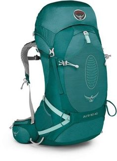 Starting with a women-specific Osprey suspension, the Aura AG 50 pack carries gear easily in 7 external pockets, enhancing mobility and comfort while toting heavier loads through the backcountry. Available at REI, 100% Satisfaction Guaranteed.