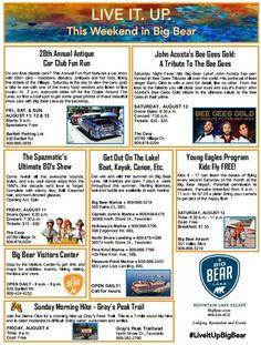 Car Show Weekend in Big Bear