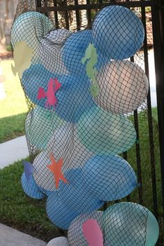 Under the sea / little mermaid birthday party decor ideas