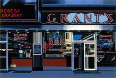 Richard Estes - Urban Landscape No. 3, Photo Realism, Silk screen