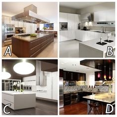 Which one of these kitchens do you prefer?