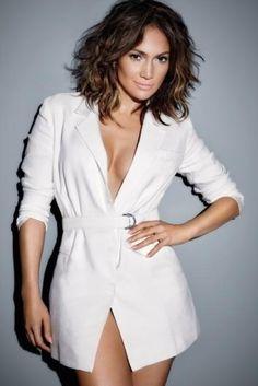 Jennifer Lopez wearing Amanda Wakeley Spring 2015