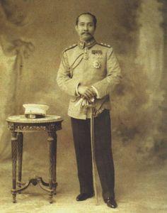 King Chulalongkorn the great of Thailand, Taken in 1895 Paris