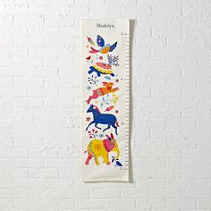 Wild Palette Growth Chart  | The Land of Nod