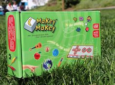Makey Makey an Invention Kit for Everyone from JoyLabz - Hands-on Technology Learning Fun for Kids - STEM Toy - of Educational Engineering and Computer Coding Activities - Ages 8 and Up Computer Coding, Science Kits, Science Experiments, Stem For Kids, Tech Toys, Make Keys, Educational Technology, Instructional Technology, Fun Learning