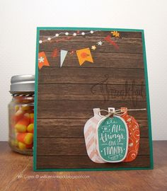 Jen Carter, In All Things Give Thanks, Pumpkins, Fall, Banners, card, Lil' Inker Designs, LID, Seen on Halloween