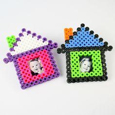 Biggie Beads House Frame Magnet