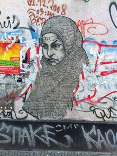 Kreuzberg street art, courtesy of the iphone diaries on Tumblr.